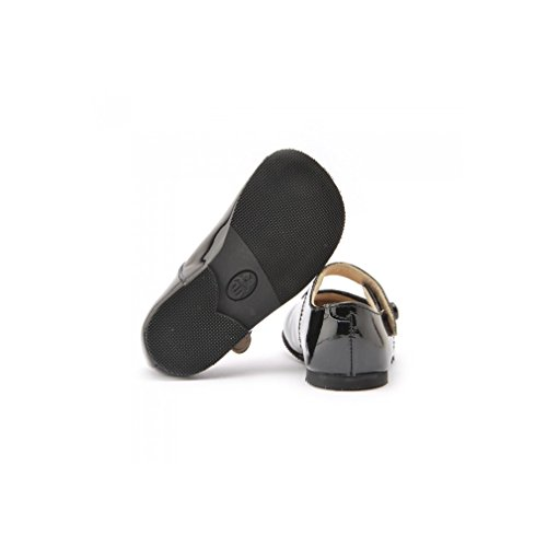 Start-Rite Caty Black Patent Mary Jane Shoes Black