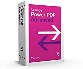 Nuance Power PDF Advanced Version 3, Creator Editor Converter, Lifetime License, 1 PC (Email Delivery - No CD)