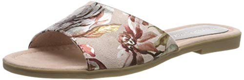 MARCO TOZZI Damen 2-2-27105-22 Pantoletten, Pink (Rose Flower 584), 41 EU (Flower Sandal Pink)