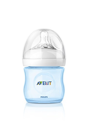 Philips Avent SCF692/17 - Biberón, tetina suave y flexible, anticólicos, PP 0% BPA, 125 ml, color azul