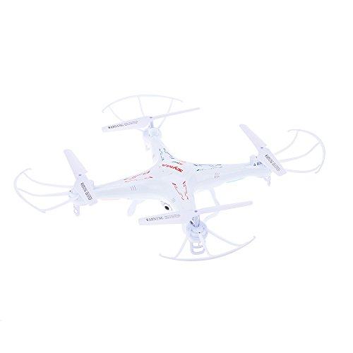 Syma X5SW Explorers, Drone con Videocamera (FPV, RTF RC Cuadricóptero, 2,0 Megapixel, WiFi, Camera, 2,4 GHz con Microricevitore, 4 Canali, 6 Axis) bianco (2)