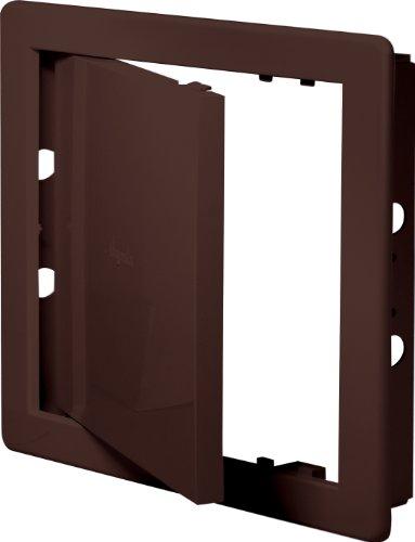 Revisionsklappe braun 15 x 20 cm ABS Kunststoff 150 x 200 mm Revisionstür Revision Wartungstür Wartung Reinigungsklappe Wartungsöffnung DT 11br