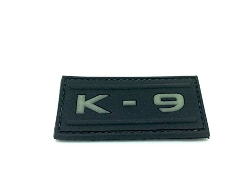 K - 9 Glow In The Dark, PVC, Klett, Airsoft Weste Tactical Armor