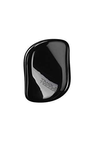 Tangle Teezer Compact Styler Haarbürste, Schwarz, 1er Pack (1 x 1 Stück)