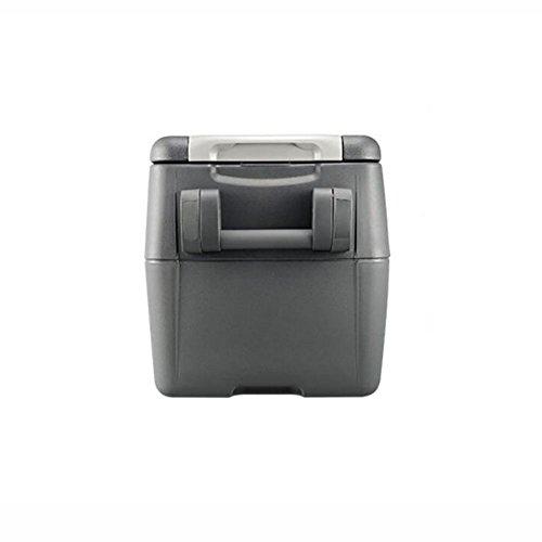 HuanLeBao 30/40 Liter Kühlbox, zum warmhalten oder kühlen, thermo-Elektrische Kühlbox 12 Volt und 210-240 Volt, Mini-Kühlschrank | für Auto und Camping 45W , gray , 30l