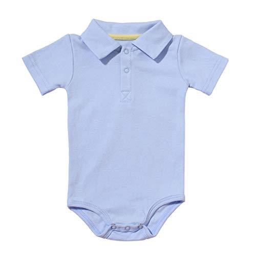 Baby Kleidung Set Strampler Overall Neugeborenes Baby Mädchen Jungen Kurzarm Einfarbig Overall Kleinkind Jumpsuit Outfits Spielanzug Babykleidung Kleider Set Allence (Elfenbein Kleinkind Kleid Schuhe)