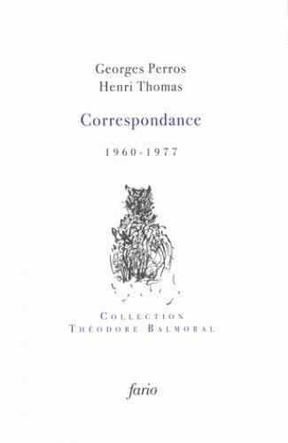 Correspondance (1960-1977)