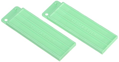 SIMPORT 039747 Shipping tray for slide Unimailer green colour