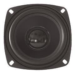Lautsprecher Bass Dynavox 100mm 4 Ohm 105x105mm 30Watt
