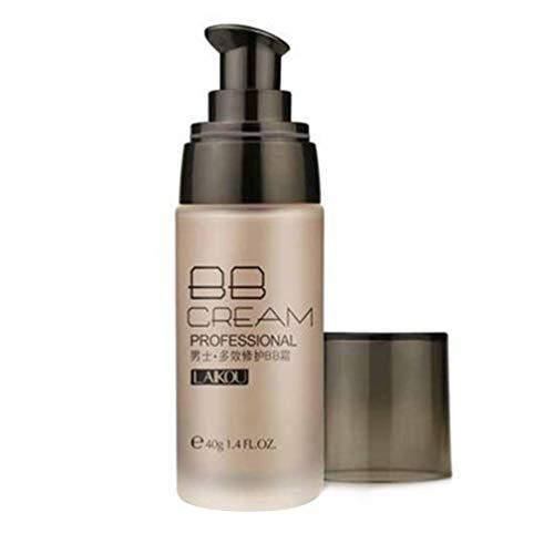 Wenwenzui LAIKOU Men BB Cream Long Lasting Concealer Blemish Waterproof Makeup Cream Natural Color -