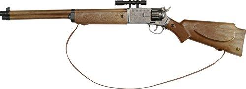 Ranger: Spielzeuggewehr für Cowboy- und Sheriff-Spiele sowie Cosplay, für 12-Schuss-Munition, 77.5 cm, braun (605 8001) ()