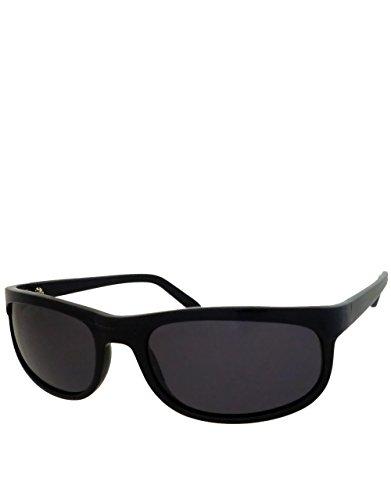 Terminator 2 Style Sunglasses, Black Frame / Smoke Lens