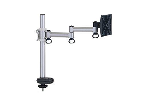 FogiMount Single wirtschaftlichen Schreibtisch Monitor Arm auf Bildschirm bis zu 68,6cm Lifting Arm Leicht mit Schnellspannhebel (Tülle Halterung) -