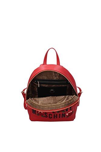 Zaini e Marsupi Love Moschino Donna - Poliuretano (JC4122PP14LS) Rosso