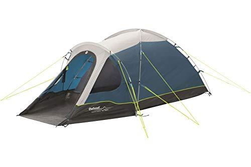 Outwell Cloud 2 Campingzelt, Familienzelt für 2 Personen, Trekking, Touren, Motorrad, Urlaub