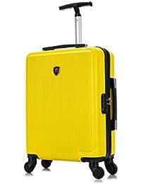 Toctoto 55x40x20cm / 55x35x20cm Espandibile+TSA / 52x33x20cm Espandibile+TSA, Lightweight Ryanair Maximum Size Carry On Hand Cabin Luggage Suitcase,Bagaglio a Mano Unisex