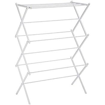 Magna Homewares Accordion Basic Royal White Cloth Drying Stand
