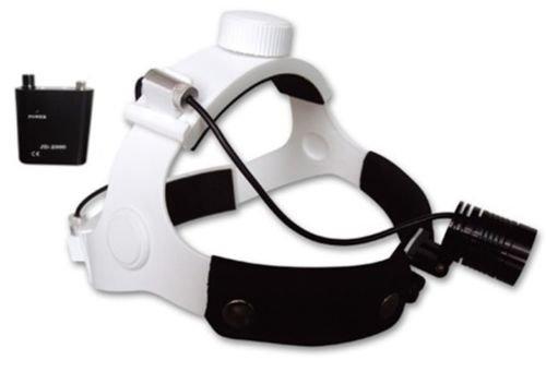 Dentaire LED Medical Tête Lampe frontale 1 W chirurgical facula réglable par Argenté