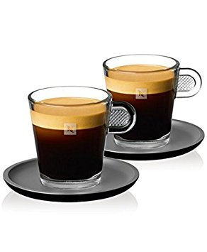 NESPRESSO Espressogläser - 2er Set - Glass Espresso - Espresso Glass Cup 60 ml