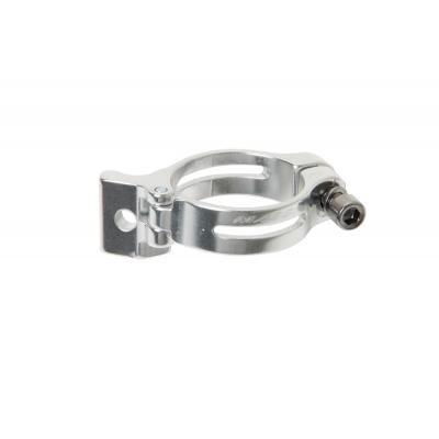 Schelle für Umwerfer MASSI zum Anlöten Schwarz Durchmesser 28,6 mm -