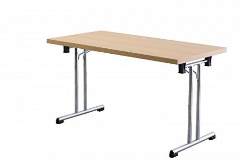 Büro-Klapptisch DR-Büro - Maße 138 x 69 cm - 2 Farbvarianten - Höhe einstellbar 73,5 cm -...