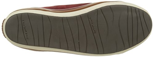 Camper Portol, Baskets Basses Femme Rouge (Dark Red 043)