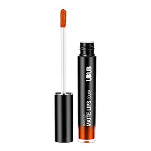 Matte Lippenstift Set, Wasserdichte Langlebige Matte Flüssigkeit Lipgloss, Farbecht Moisturizing...