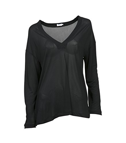 filippa-k-camisas-corte-imperio-basico-manga-larga-para-mujer-negro-m
