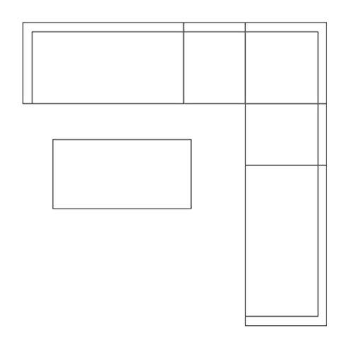 King Collection Outdoor t1095864 Table en & Out rectangulaire avec Top en Verre trempé