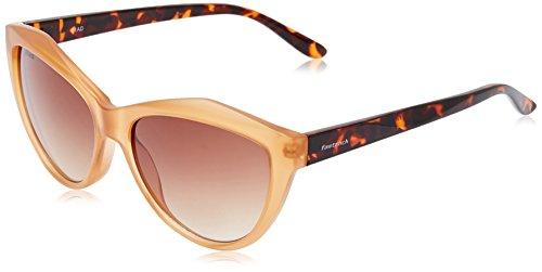 b456fa623306 Fastrack Sundowner UV Protected Cat Eye Girl's Sunglasses -  (P338BR2F|56|Brown lens