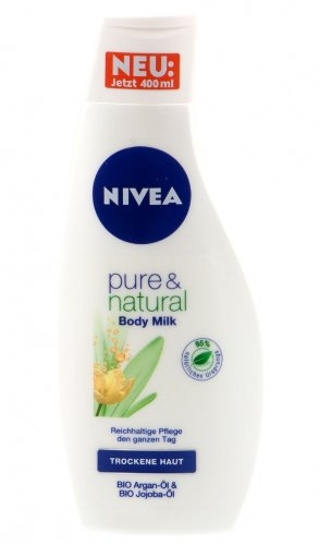 Nivea Pure & Natural Body Milk 400ml (M18)