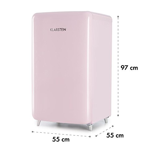 Klarstein PopArt Pink Kühlschrank mit Gefrierfach im Retro-Design - 6