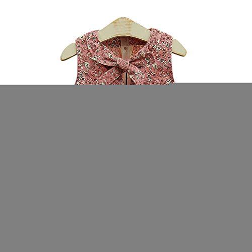 Allence Kleinkind Kinder Mädchen Sommer Kleidung Baby Mädchen Outfits Blumen Kurze Ärmel Muster Shirt Top Shorts Set Kleidung für 3-8 Jahre (Jungen Für 1950er-jahre-outfits)