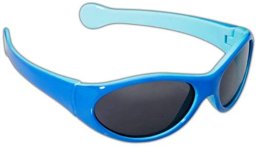 ille, Shiny Light Blue/Navy, One Size ()