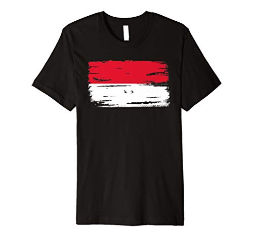 Indonesien Indonesisch Flaggen T-Shirt -