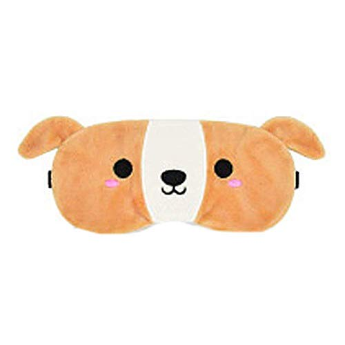 Jnday Augenmaske Creative Funny Plush Sleeping Masken Bequem Eisbeutel Cute Eye Blinder Mode Living Cartoon Schlaf Bezug Hund