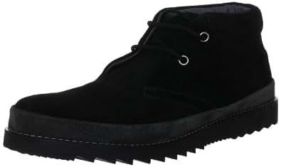 Unze London Men's GS4033 Black Shoe GS4033 7 UK