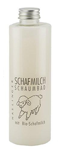 Schafsmilch Schaumbad mit Lanolin, Badezusatz 400ml