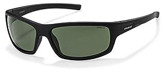 Polaroid P8411S - Gafas de sol rectangulares para hombre, 63 mm, negro (B00I7OC29I) | Amazon Products