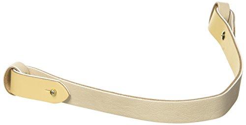 O bag OBTIC01, Manglia Borsa da Donna, 0.5x0.5x35.5 cm (W x H x L) Bianco (Avorio)