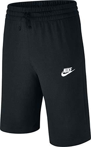 Nike Kinder Shorts Jersey, schwarz (Weiß), XS Kind-jersey-hose