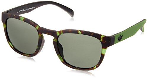 adidas Unisex-Erwachsene AOR001-140-030 Sonnenbrille, Grün (Verde), 52.0