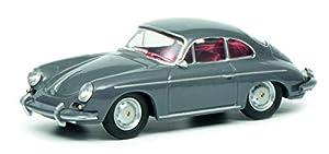 Schuco 452017900 Porsche 356 - Maqueta de Porsche (Escala 1:64), Color Gris