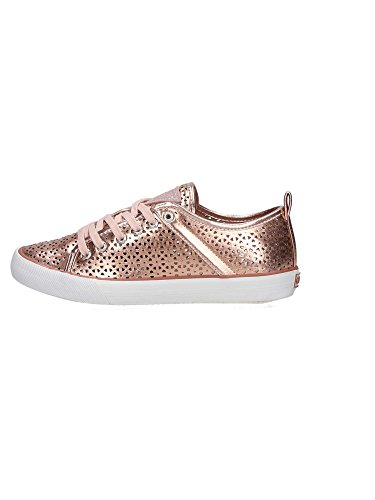 Guess Fljli1 Ele12 Sneaker Damen Gold