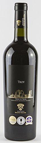 """Masseria Barone Melodia Vino Rosso """"Troy"""" Nero di Troia IGP Puglia 2016 - 1 bottiglia da 750 ml"""