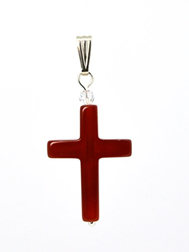 4lg-live-love-laugh-be-lucky-red-cross-natural-agate-silver-pendant-immortal-phoenix-positive-energy