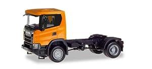 Herpa 309776 Scania CG 4x4 Zgm, Naranja, Color