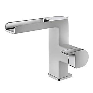 Teka 62331020bc cromado baño fregadero grifo de Formentera–Color blanco