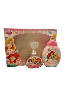 Disney Princess Coffret: Eau De Toilette Spray 100ml/3.4oz + Shower Gel & Shampoo 300ml/10.2oz - 2pcs