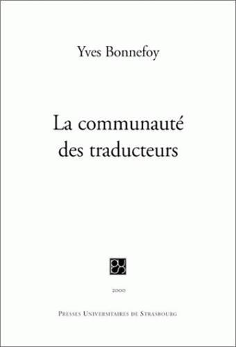 La communauté des traducteurs